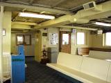 Upper deck passenger lounge