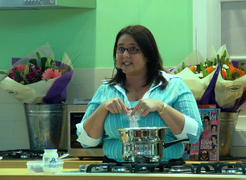 Cooking demonstrator