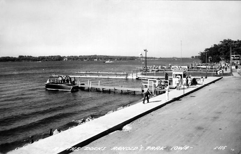 The Docks Arnolds Park