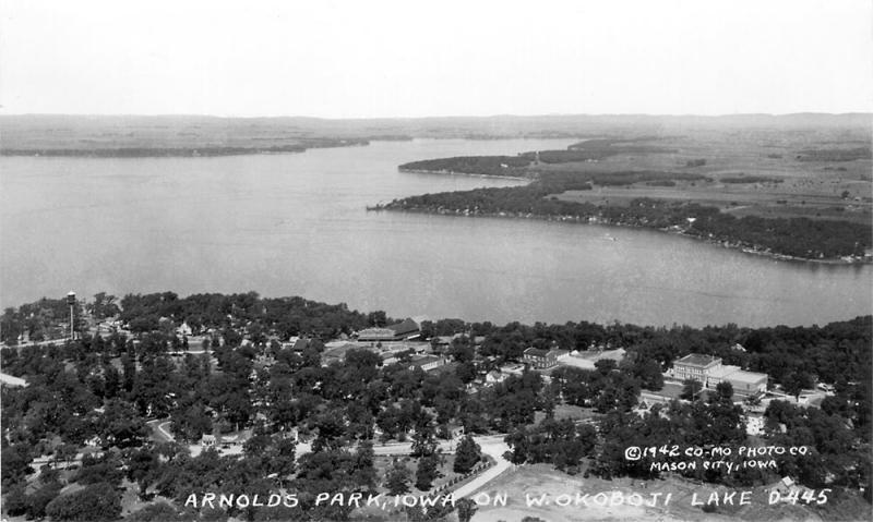 Arnolds Park West Okoboji 1942
