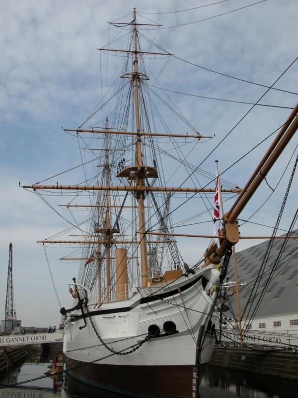 HMS Gannet - 1878