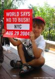 8.28 before the rnc: kid with sign