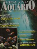 Foto da Capa da revista Vida no Aquário - Tarpões na Cueva Azul (Cuba)
