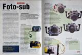 Texto sobre como escolher uma câmera fotografica subaquática