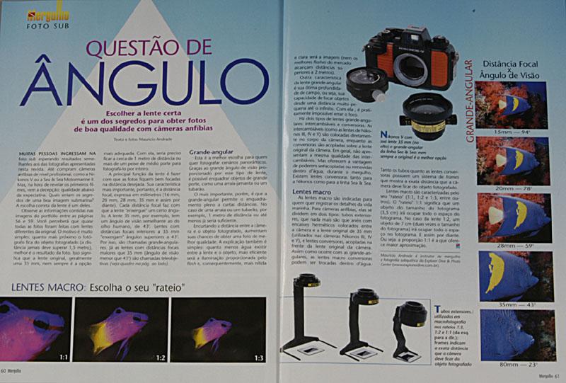 Revista Mergulho Nº74 - Julho de 2002