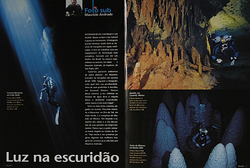 Revista Mergulho Nº92 - Janeiro de 2004