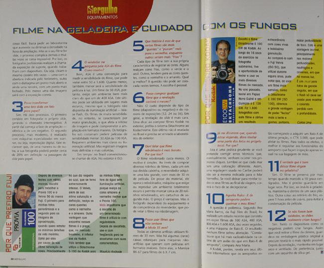 Revista Mergulho Nº23 - Abril de 98