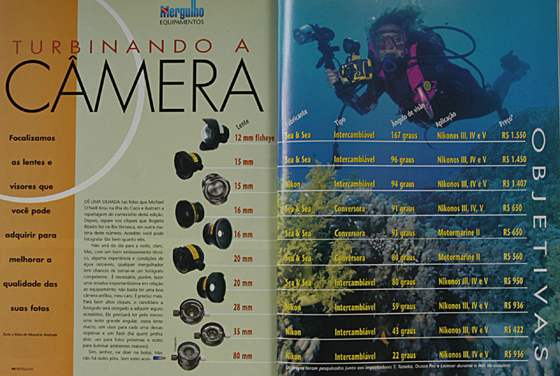 Revista Mergulho Nº18 - Novembro de 1997
