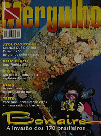 Revista Mergulho Nº21 - Fevereiro de 98