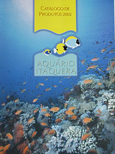 Catálogo 2002 do Aquário de Itaquera
