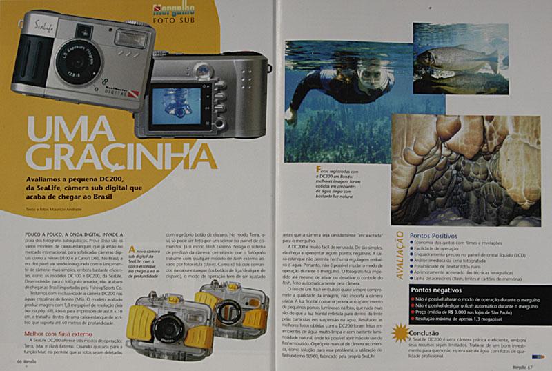 Revista Mergulho Nº80 - Janeiro de 2003