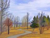 Ottawa River Pathway Art