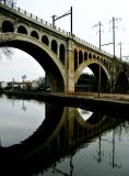 Manayunk Bridge, Pennsylvania Railroad    6661.