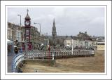 Jubilee Clock & St. Johns church, Weymouth