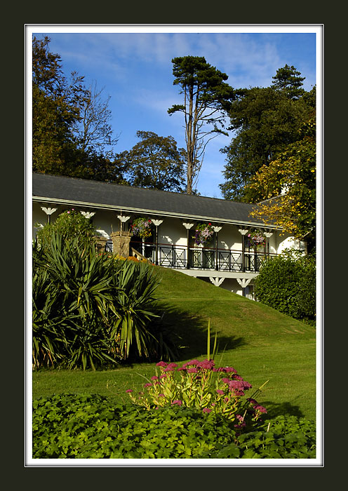 Brunel Manor ~ garden and new wing