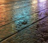 Coloured Tracks - by bracket