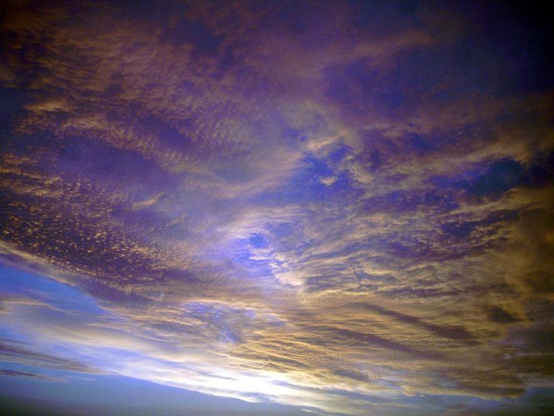 27th September, sky-burst