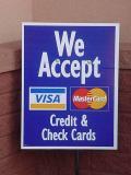 we acceptVisaMastercard