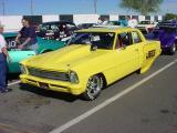 yellow Chevy Nova