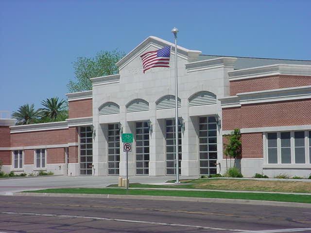 new fire house<br> in Mesa Arizona