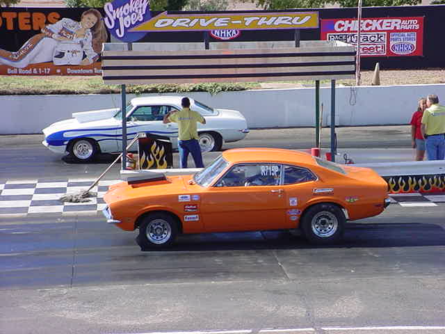 drag race for first place