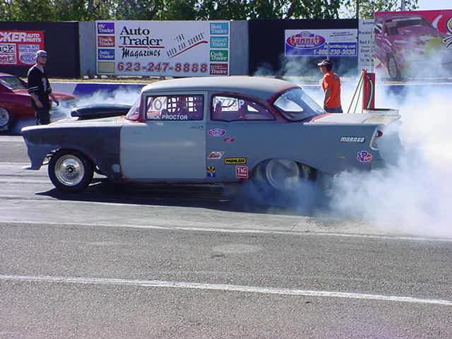 bad 1956 Chevy