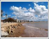 The beach ... XI