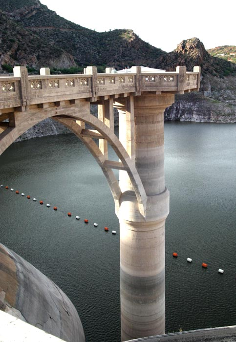 Drought at the Coolidge Dam