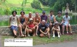 bike ride group, Intrepid trip, Bali Indonesia