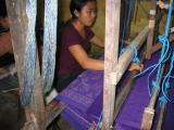 inside the Pelangi weaving shop
