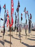 flags at the Kuta Darnival