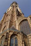 New church looking upwards