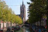 The old Delft church