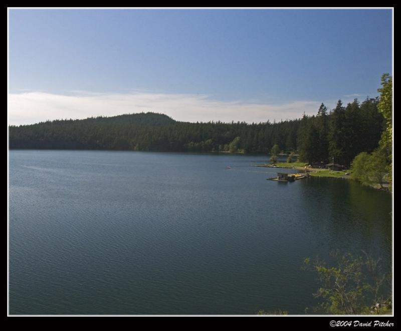 Cascade Lake Beach