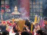 Offering incense