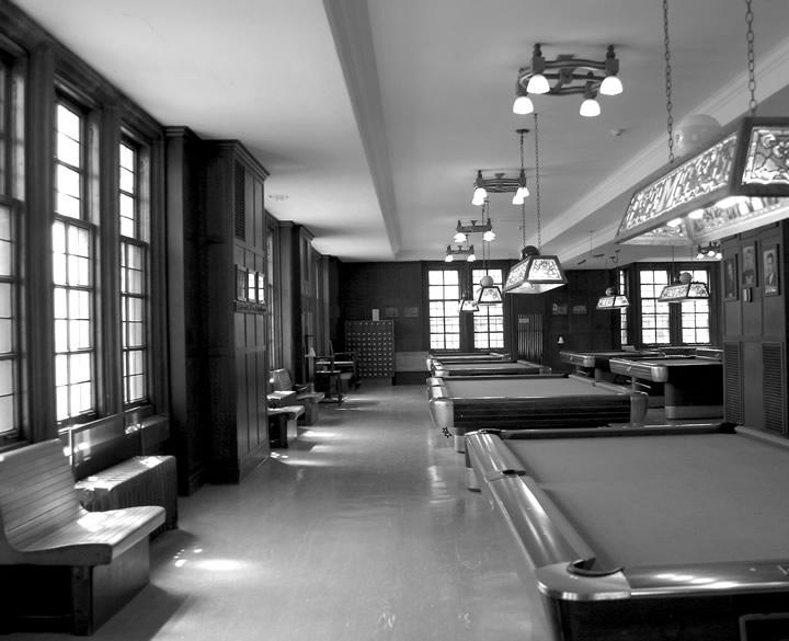 Billiards B&W