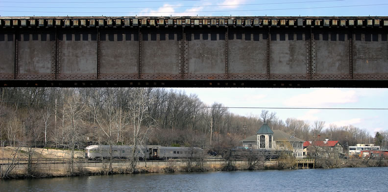 The River and the railroad