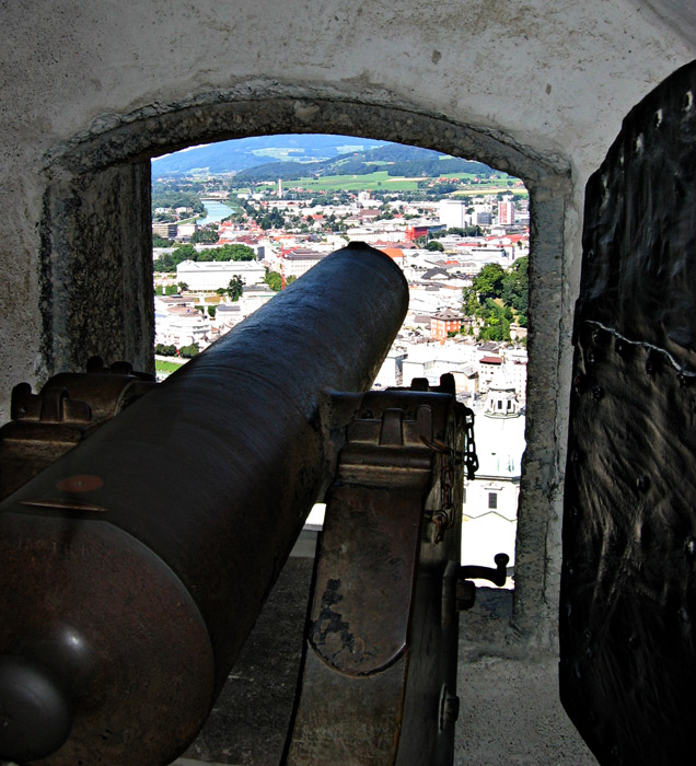 Fortification At Hohensalzburg Castle