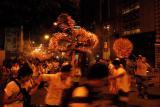 Fire Dragon Dance at Tai Hang during Mid Autumn Festival ¤¤¬î¤j§|¤õÀs Sept 27, 2004