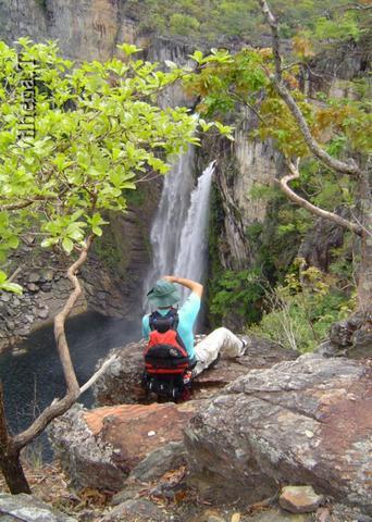 Guia se arriscando - Salto 120 do Parque Nacional