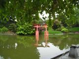 Gate at Brooklyn Botanical Garden