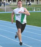 Lee Rogers in the 200 meter dash 4-20-04.jpg