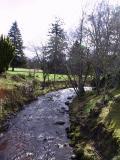 Wandering stream through Blair