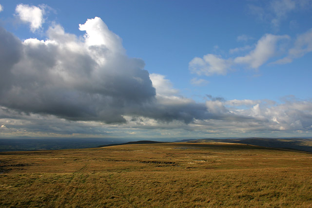 view north from Cross Fell