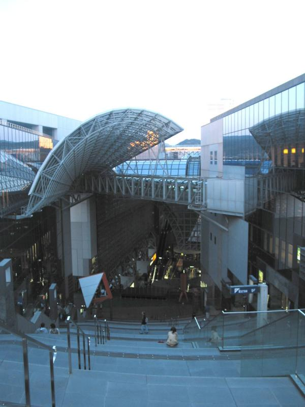 Ultramodern Train Station