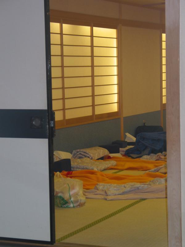 Womens sleep room