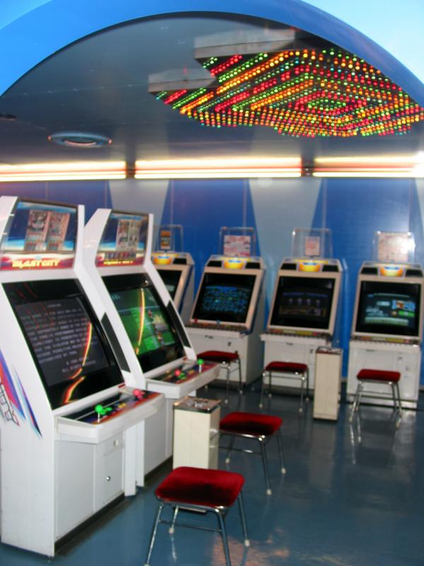 Inside the Pinball Parlor/Gameroom