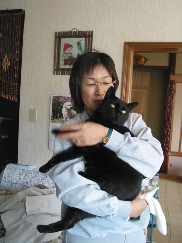 Noriko at home