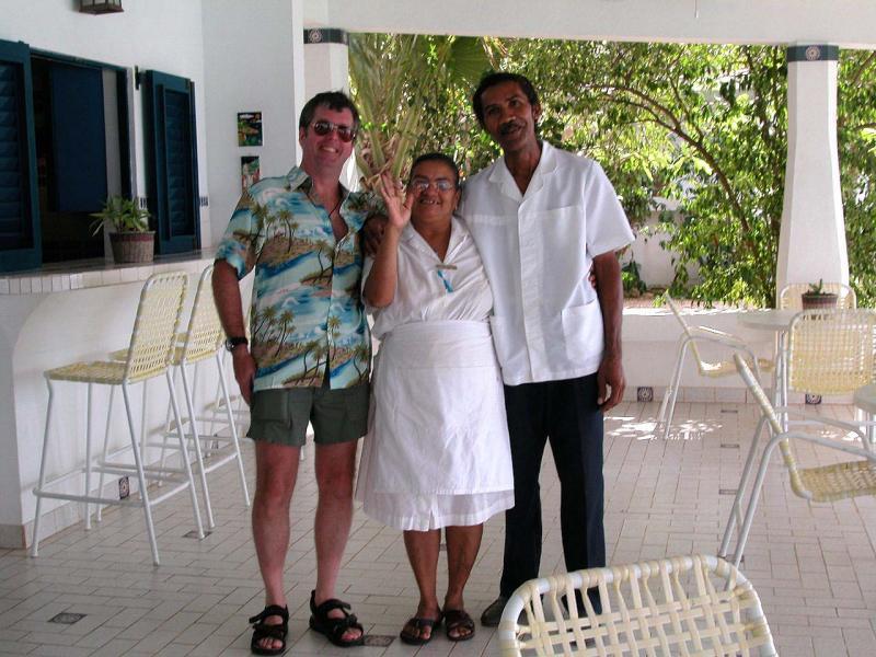 Marcelina and Dimas with Glenn