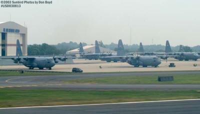 North Carolina Air Guard C-130s military aviation stock photo #6064